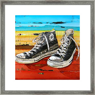 Meaningful Convere-ations Framed Print by Danny Phillips