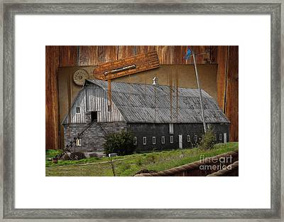 Measure Of Time Gone By Framed Print by Liane Wright