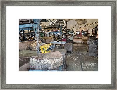 Meat Market Framed Print