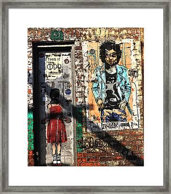 Meatpacking District Framed Print