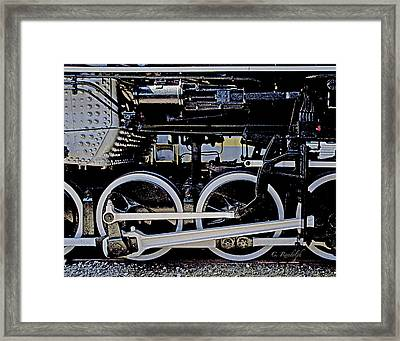 Mechanical Advantage Framed Print by Cheri Randolph