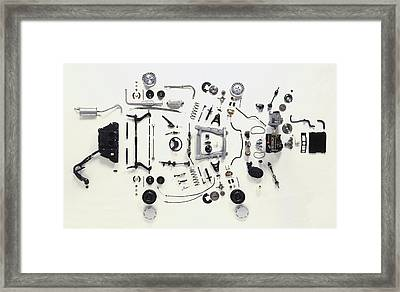 Mechanical Components Framed Print