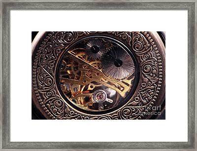 Mechanical Framed Print by John Rizzuto
