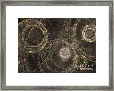 Mechanicon Framed Print by Martin Capek