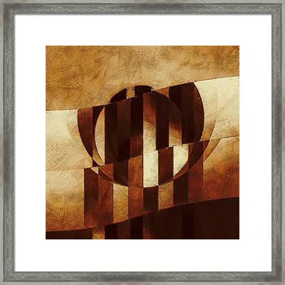 Mechanism Of Exclusion Framed Print by Lonnie Christopher