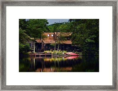 Medford Lakes I Framed Print