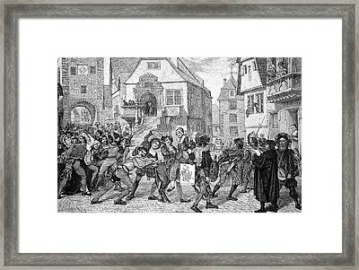 Mediaeval Unrest Framed Print by Bildagentur-online/tschanz
