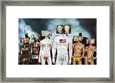 Medianation Framed Print by Charles Luna