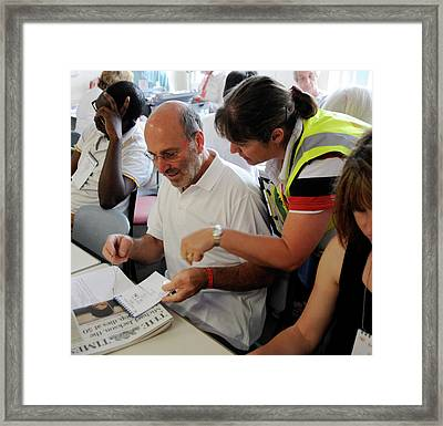 Medical Response Team Framed Print by Public Health England