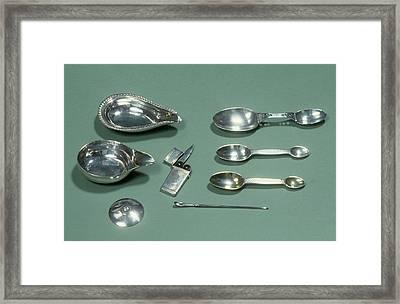 Medical Silver Framed Print