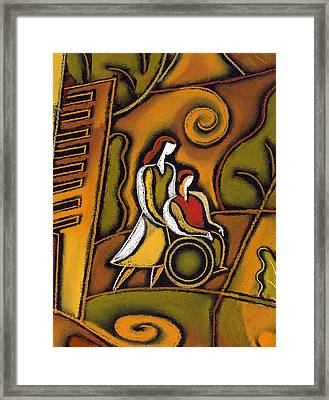 Medicare Framed Print by Leon Zernitsky