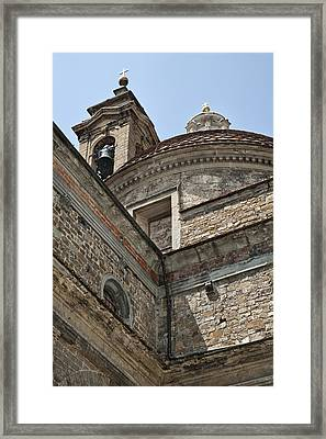 Medici Chapel And Basicilica Of San Lorenzo Framed Print
