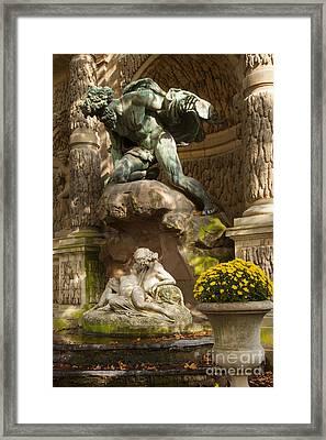 Medici Fountain - Paris Framed Print