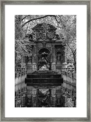 Medici Fountain Framed Print