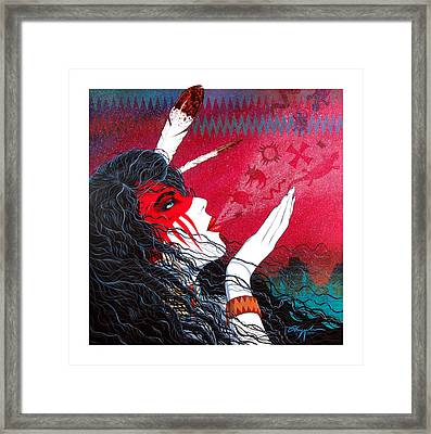 Medicine Breath Framed Print