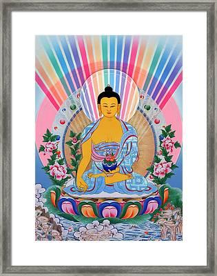 Medicine Buddha 1 Framed Print