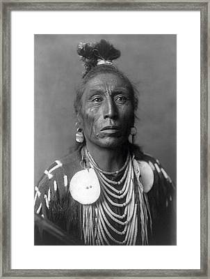 Medicine Crow  1908 Framed Print
