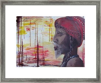 Medicine Man Framed Print