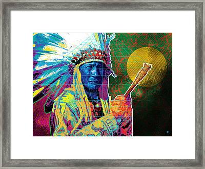 Medicine Man Framed Print by Gary Grayson