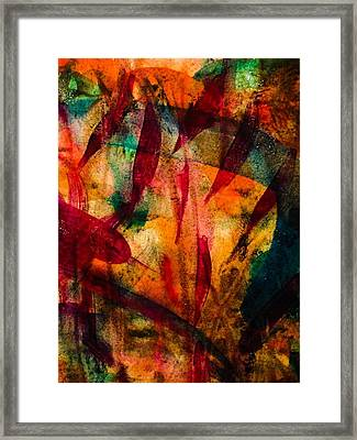 Framed Print featuring the painting Medicine Man by  Heidi Scott