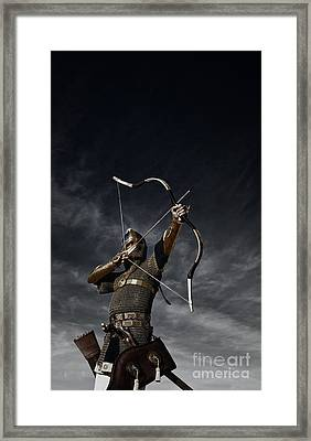 Medieval Archer II Framed Print by Holly Martin