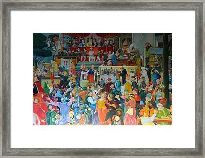 Medieval Banquet Framed Print