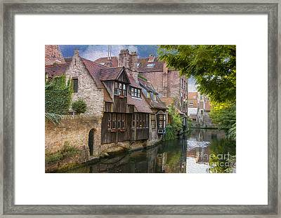 Medieval Bruges Framed Print by Juli Scalzi