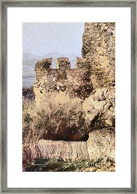 Medieval Castle Of Holloko Hungary Framed Print by Odon Czintos