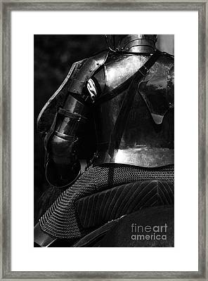 Medieval Dark Knight Framed Print