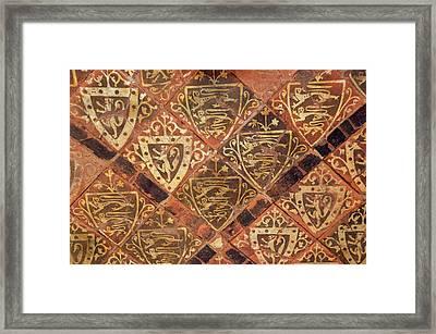 Medieval Floor Framed Print