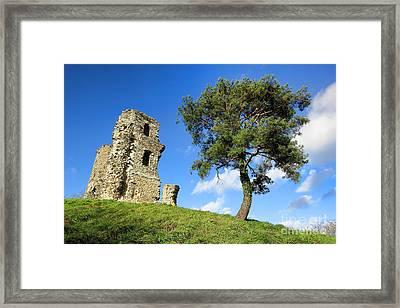 Medieval Hill Framed Print by Olivier Le Queinec