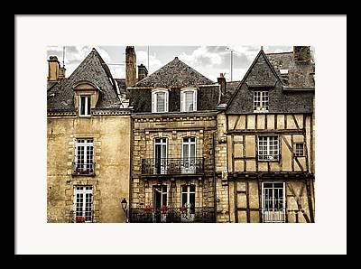 Old Town Photographs Framed Prints
