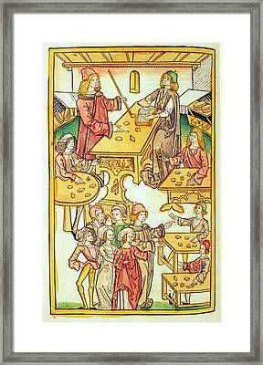 Medieval Mineralogy Framed Print
