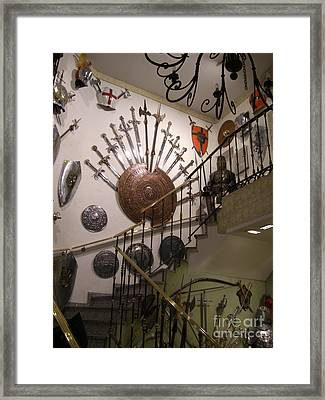 Medieval Spanish Weaponry Framed Print
