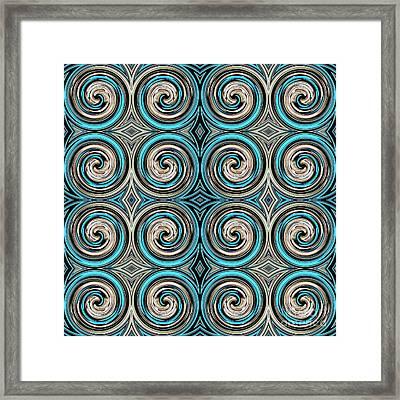 Medieval Tile 12 Framed Print