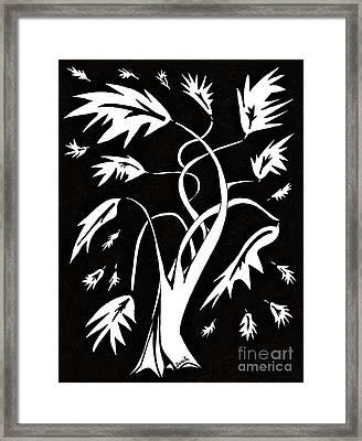 Medieval Tree Framed Print