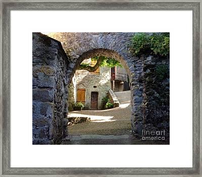 Entre Framed Print by France  Art