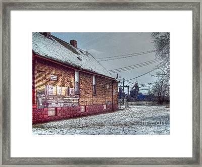 Medina Street Framed Print by MJ Olsen