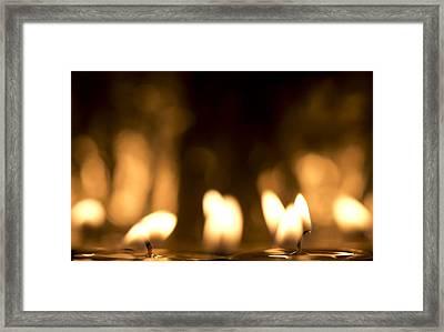 Meditate Framed Print