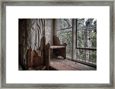Meditation Corner Framed Print