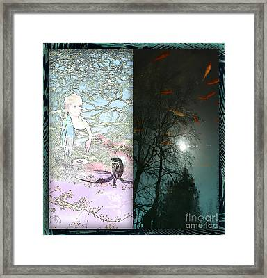 Meditation Duetto Framed Print