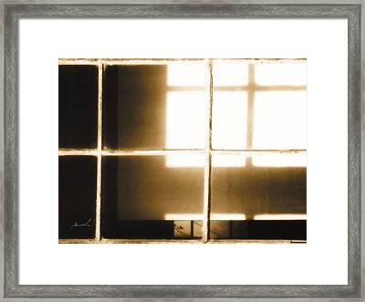 Meditation In Sunlight 14 Framed Print by The Art of Marsha Charlebois