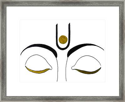 Meditation Framed Print by Kruti Shah