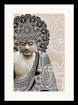 Siddharta Mixed Media Framed Prints