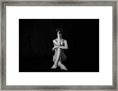 Framed Print featuring the photograph Meditation by Mez