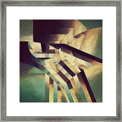 Meditation Of God Framed Print by Lonnie Christopher