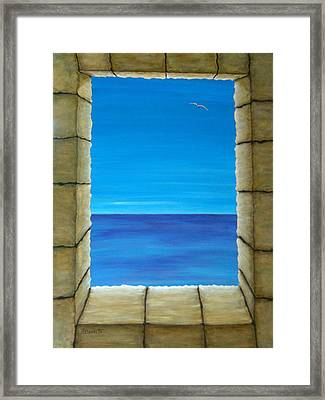 Meditation Framed Print by Pamela Allegretto