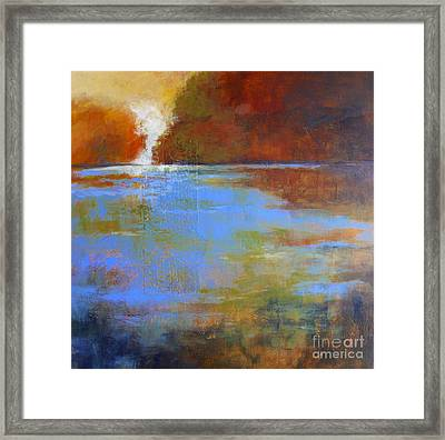 Meditation Place No. 3 Framed Print by Melody Cleary