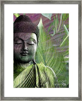 Meditation Vegetation Framed Print
