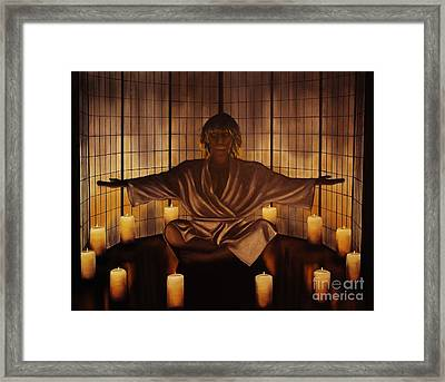 Meditation Framed Print by Wayne Cantrell